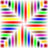 2 abstrakt färger Arkivfoton