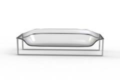 2 acrylic kanapa przejrzysta royalty ilustracja