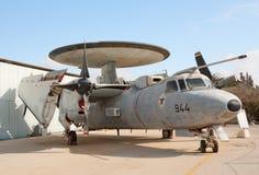 2 aew e Grumman hawkeye samolot Zdjęcie Royalty Free