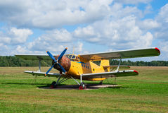 An-2 agricultural plane Royalty Free Stock Photography