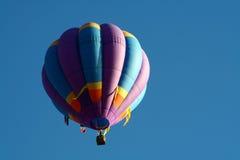 2 air balloon hot purple 免版税库存图片
