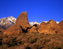 2 alabama kullar Mount Whitney Royaltyfria Bilder