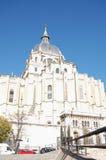 2 almudena catedral de spain Arkivfoton