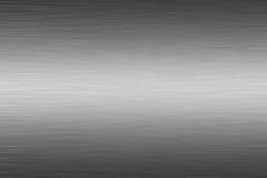 2 aluminium szczotkujący talerz Obrazy Stock