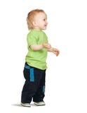 2 anos de menino idoso Fotografia de Stock Royalty Free