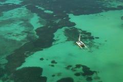 2 antenne Aruba Images libres de droits