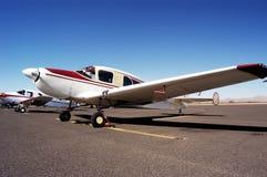 2 antika flygplan Royaltyfria Bilder