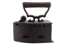2 antique żelaza pranie Obrazy Royalty Free