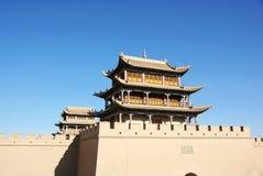 2 antyczny chiński miasto zdjęcia stock