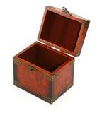 2 antykami otwarty bagażnik drewna Obraz Royalty Free
