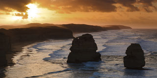 2 Apostles Close Royalty Free Stock Photos