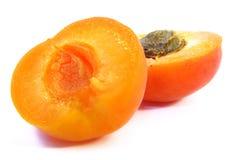 2 aprikos skjuten studio Royaltyfri Fotografi