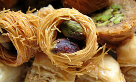 2 arabiska sötsaker Fotografering för Bildbyråer