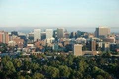 2 arial城市视图 免版税库存图片