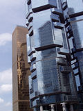 2 arkitektur Hong Kong Arkivfoton