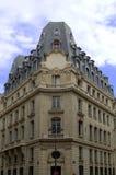 2 arkitektur paris Arkivbild