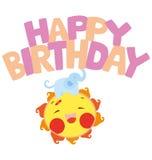 2 as urodziny szczęśliwy Zdjęcie Stock