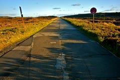 2 asfaltowa droga Fotografia Royalty Free