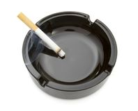 2 ashtray Zdjęcia Stock