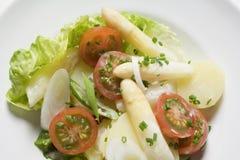 2 asparagusów sałatka Fotografia Stock