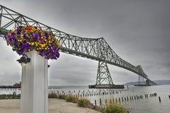 2 astoria桥梁megler 库存图片