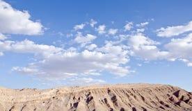 2 atacama智利沙漠月亮谷 免版税库存照片