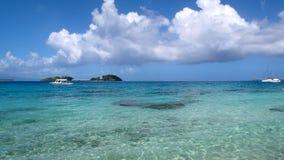 2 atoli/lów polynesian Fotografia Stock