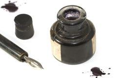 2 atramentów pióro Fotografia Stock
