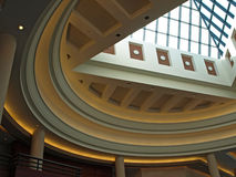 2 atriów centrum konwencji Obrazy Stock