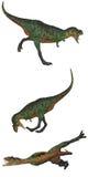 2 aucasaurus 免版税库存图片