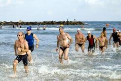 2 aviv τηλ. triathlon Στοκ εικόνα με δικαίωμα ελεύθερης χρήσης