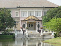 2 ayutthaya轰隆pa宫殿 库存照片