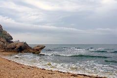 2 azov海边 库存图片
