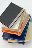 2 böcker ingen stapel Fotografering för Bildbyråer