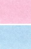 2 Background blue pink. Two background of recycled paper blue and pink Stock Photo