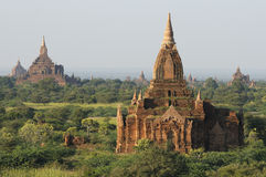 2 bagan tempel Royaltyfri Fotografi