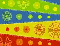 2 bakgrundsjul svalnar vektor illustrationer