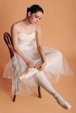 2 balerina fotografia stock