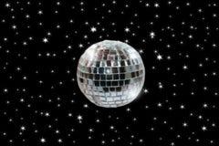 2 ball disco path Στοκ Φωτογραφία
