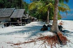 2 bambusów wyspa Zdjęcia Stock