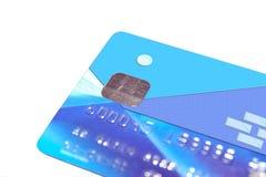 2 banka karty imitacja Fotografia Stock