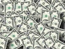 2$ bankbiljet Stock Foto's