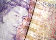 2 banknot obrazy royalty free
