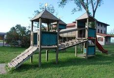 2 barns ramspelrum Arkivfoto