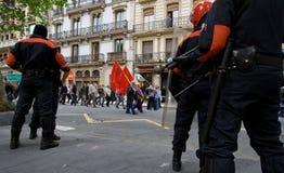 2 bask policja zdjęcia royalty free