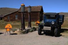 2 benzynowa stara stacja Fotografia Royalty Free