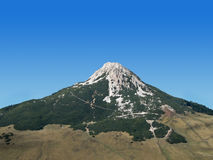 2 berg Royaltyfri Foto