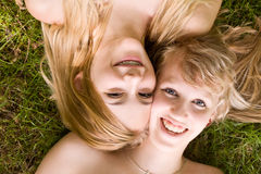 2 best friends Royalty Free Stock Image