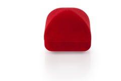 2 biżuterii pudełkowata czerwień Zdjęcia Stock