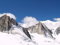 2 bianco monte Obraz Stock